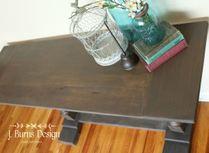 ofmp and daddy vans baluster console table with patina finish jburnsdesign top