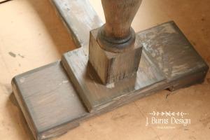 ofmp driftwood console table jburnsdesign