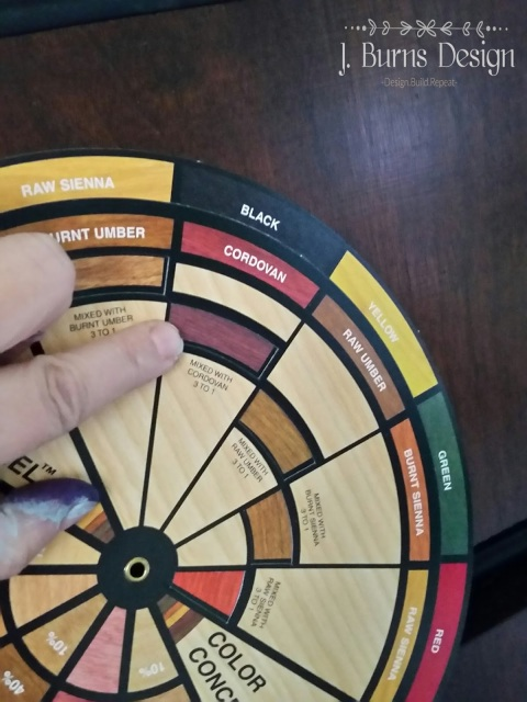 wood finishers color wheel how to match wood stain